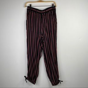 Anthropologie striped joggers pants, Size S